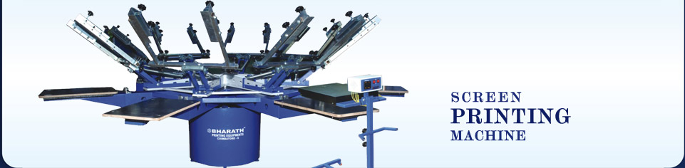 Screen Printing Machines - Bharath Fushing